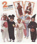 Childs Santa Angel Jester Mouse Witch Bunny Halloween Costume Sew Patter... - $12.99