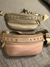 BRAND NEW WOMEN'S MICHAEL KORS NYLON STUD KENLY MEDIUM WAIST PACK FANNY ... - $95.99