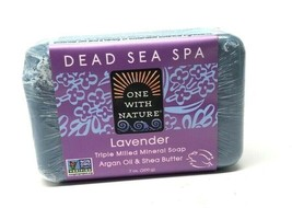 One With Nature Dead Sea Mineral Soap Lavender - 7 Oz - $6.49