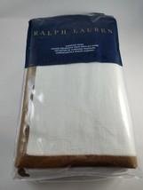 Ralph Lauren Beckett Camel Haberdashery Bronson EURO Pillow Sham - $118.78