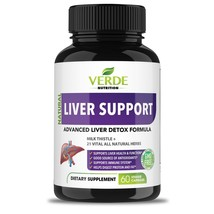 An item in the Health & Beauty category: All Natural Herbal Liver Support Supplement, Liver Aid, Detoxifier, Regenerator