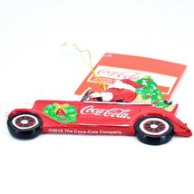 "Kurt S. Adler Santa Claus Driving Coca-Cola Coke Truck 2.75"" Christmas Ornament image 3"