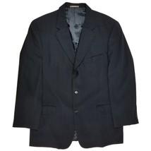 Calvin Klein Blazer Size 42 Regular Mens Striped Wool Suit Sport Jacket USA - $33.44