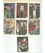 vintage BATMAN gum cards from the Adam West movie TOPPS - $10.00
