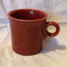 Fiesta Fiestaware HLC Persimmon? Orange Coffee Mug Cup Tom & Jerry Mug 9 oz EUC - $8.54