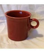 Fiesta Fiestaware HLC Persimmon? Orange Coffee Mug Cup Tom & Jerry Mug 9... - $8.54