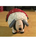 Polymer Clay Sheep Ornament - $4.99