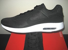 Nike Mens Air Max Modern Essential Running Shoes Black White 844874 001 New - $54.98