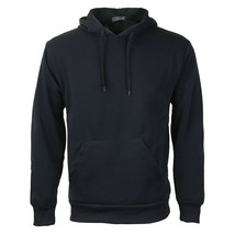 Men's Premium Athletic Drawstring Fleece Lined Sport Gym Sweater Pullover Hoodie image 2