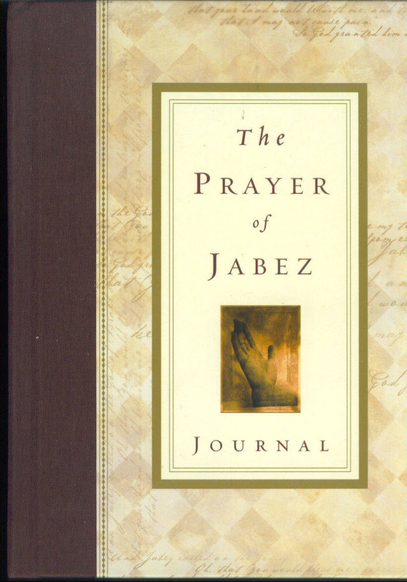 Prayer of Jabez Devotional Journal Devotional Companion Bruce Wilkinson NWOT