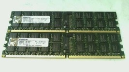 Kingston 8GB 2x4GB PC2-6400 ECC Reg 240 Pin Server DIMM KTH-BL495K2/8G TESTED