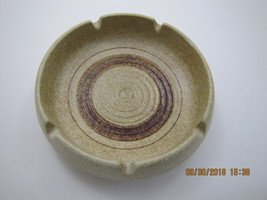 TREASURE CRAFT POTTERY ASHTRAY - $28.50