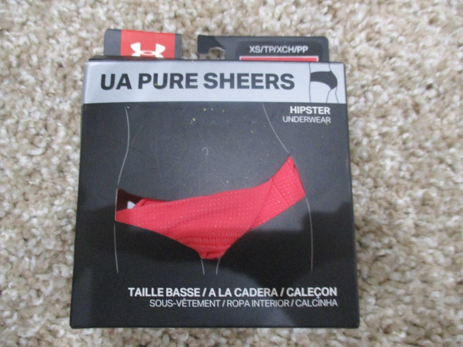 235ada7f92cb BNIB Under Armour Pure Sheers Underwear, and 50 similar items. S l1600