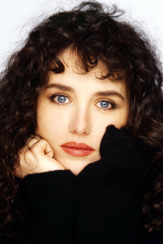 Primary image for Isabelle Adjani Stunning Close Up Portrait Black Top Studio 18x24 Poster