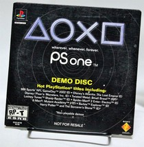 Sony PSOne Playstation One Demo Disc SCUS-94799 Twisted Metal X-Men - $5.94