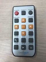 Omnitech Remote Control Tested And Cleaned                         I1