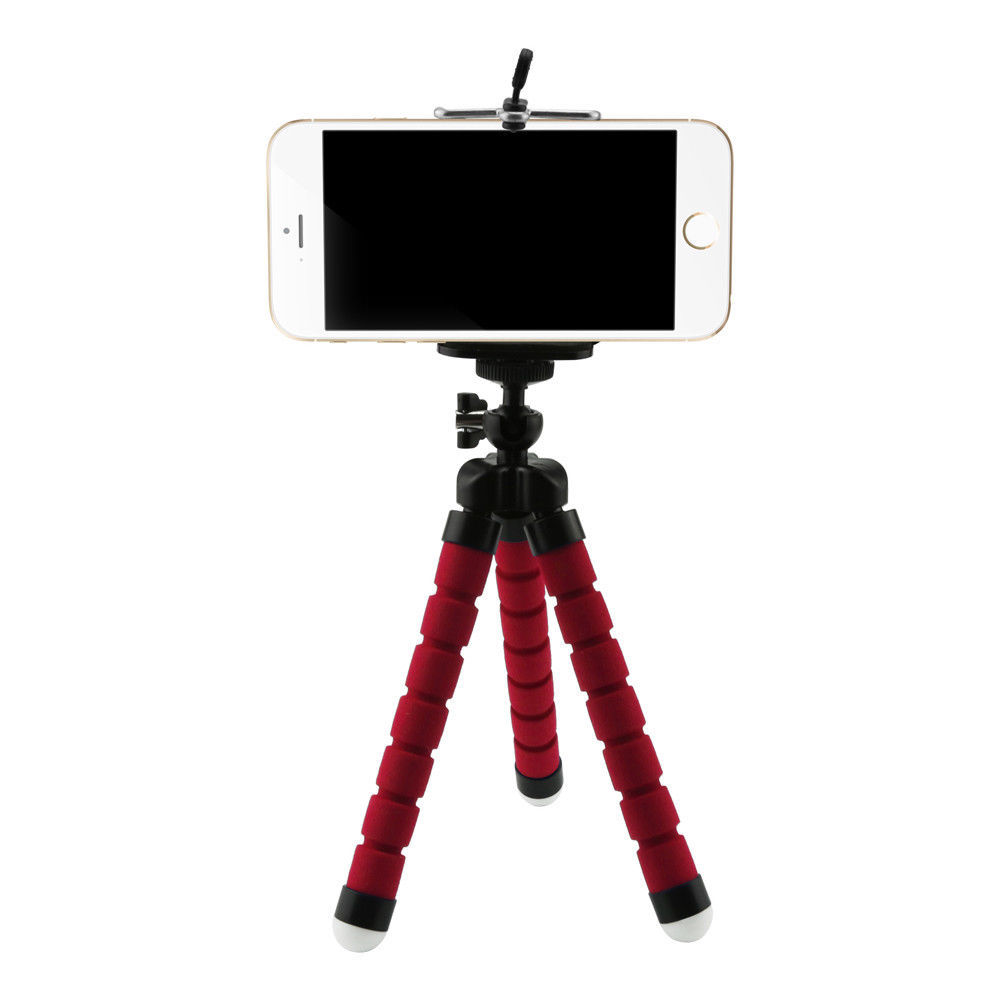 Phone Tripod Holder Camera Stand Mount Cell Professional Adjustable Flexible Bag