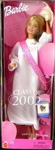 Class of 2002!  GRADUATION White Robe BARBIE DOLL  Special Edition NRFB - $18.81