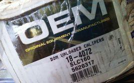OEM Cardone Disc Brake Caliper P/N:18-4072 image 4