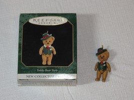 HALLMARK Keepsake Ornament 1997 Teddy Bear Style New Collectors Series M... - $10.88