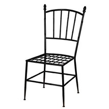 """Etienne Metal Chair With Cushion 20x23.5x39"""" - $342.98"""