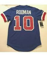 Detroit Pistons Dennis Rodman #10 NBA Hardwood Throwbacks Blue Jersey Ne... - $89.09