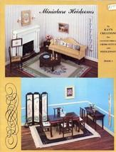 Miniature Heirlooms Book I Doll Cross Stitch Pattern Booklet RARE - $22.47