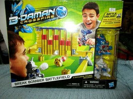 2013 Hasbro B-Damon Crossfire Break Bomber Battlefield Game New Sealed - $34.60