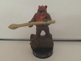 Star Wars Attacktix Battle Figure Wicket Ewok VHTF - $25.24