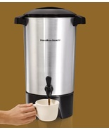 45 Cup Coffee Urn Buffet Office Home Entertaining Electric Percolator Co... - $47.49