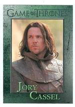 Game of Thrones trading card #51 2012 Jory Cassel - $4.00