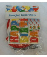 3 pack of hanging Happy Birthday Decorations - $6.00