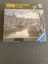 Life on the Canal 1000 Piece Puzzle by Ravensburger new sealed - $19.35
