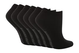 6 Pares Mujeres Liso Negro Zapatillas Algodón Calcetines Invisibles 4-8 ... - $16.20 CAD