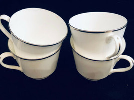 Royal Doulton Cups White Lot of 4 English Fine China England Free Ship - $23.92