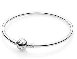 "AUTHENTIC PANDORA BANGLE BRACELET 7.5"" 590713-19 - $64.99"