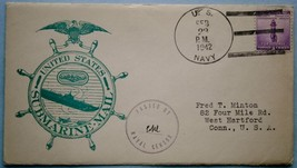 18. Feb. 1942 Censored Submarine Cachet Mail - $18.00
