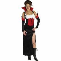 Sexy Adult Red and Black Countess Carmella Halloween Costume - Medium - $21.84