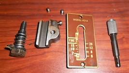 Singer 401A Slant-O-Matic Stitch Length Lever #172172 w/Cover Plate #172295 - $15.00