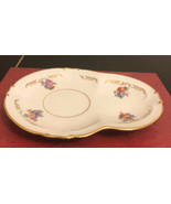 Divided Limoges Porcelain Coffee Tea  Cup SAUCER Dish - $9.90