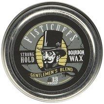 Fisticuffs Strong Hold Mustache Wax Gentlemen's Blend 1 OZ. Tin image 4