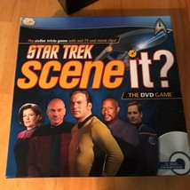 Star-Trek-Scene-It-DVD-Trivia-Board-Game-Mattel-cb - $39.61