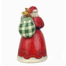 """Jim Shore Santa Holding Red Truck 9"""" High Christmas Collectible Country Living image 2"""