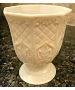 Lenox Jewish Hebrew Judaic Shabbat Holiday Kiddish Wine Cup Goblet - $23.99