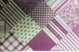 "PEVA Vinyl Tablecloth 60"" Round, (seats 4 ppl) PURPLE DESIGN by BH - $10.88"
