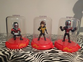 Marvel DOMEZ collectibles ANT-MAN and THE WASP Set of 3 mini-figurines - $15.47
