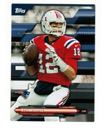 2014 Topps FFS-TB Tom Brady Fantasy Strategies New England Patriots  - $3.00