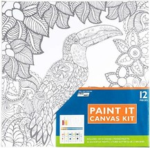 "Pro Art Paint-it Canvas Kit 10""x10""-toucan #bbd - $17.29"