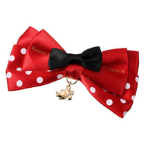 Disney Store Maison de FLEUR Minnie Mouse Red Ribbon Valletta Hair Clip ... - $58.41