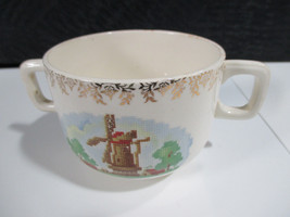 VINTAGE SALEM CHINA WIND MILL TWO HANDLE CUP - $5.93